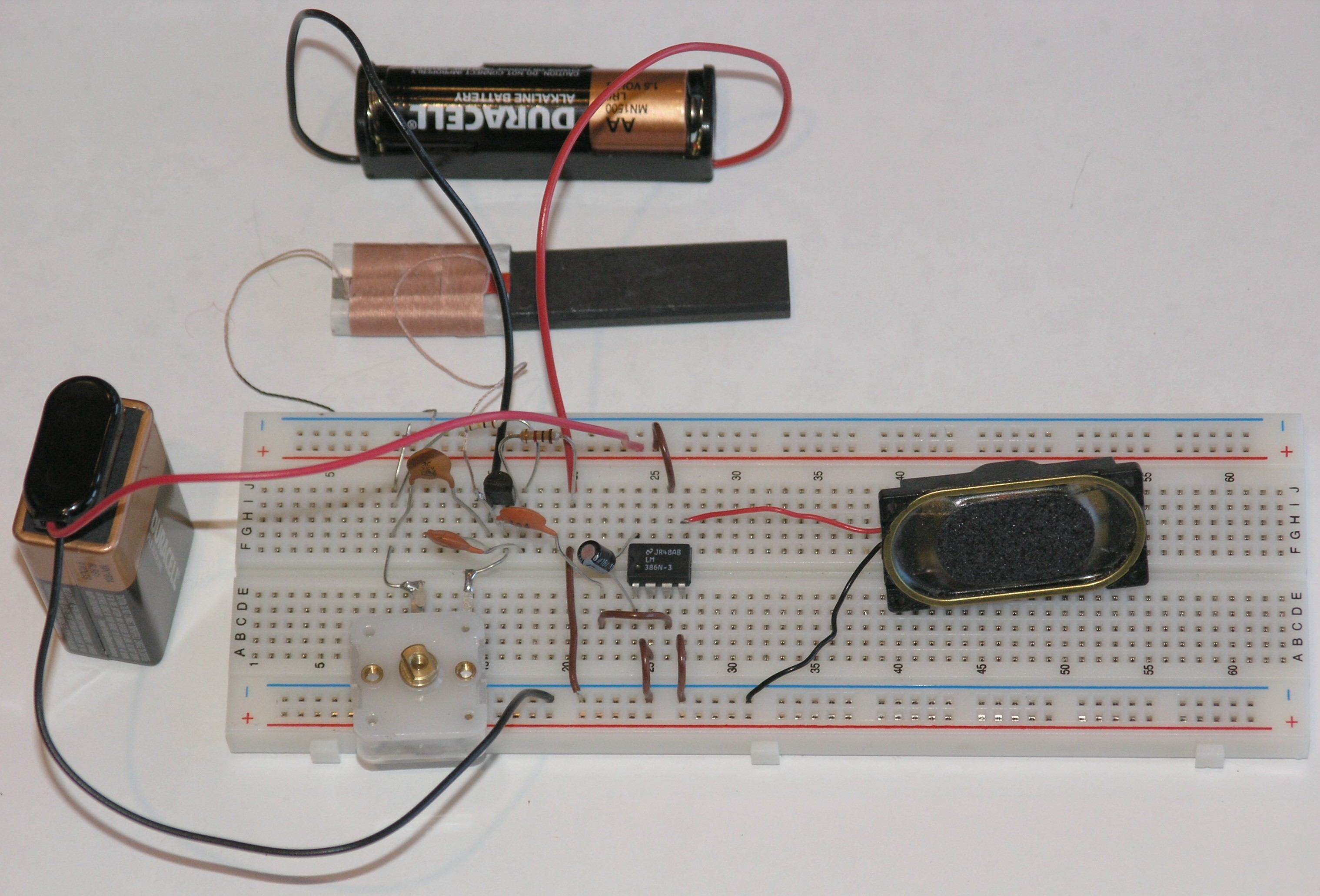 Chapter 10: Computers and Electronics -- Build a simple integrated ...