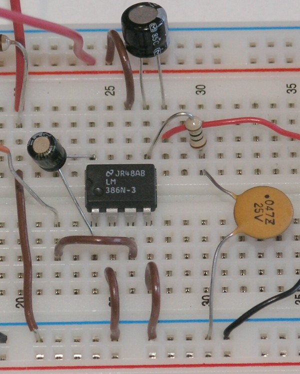 Schematic Audio Amplifier With Ic An7102s