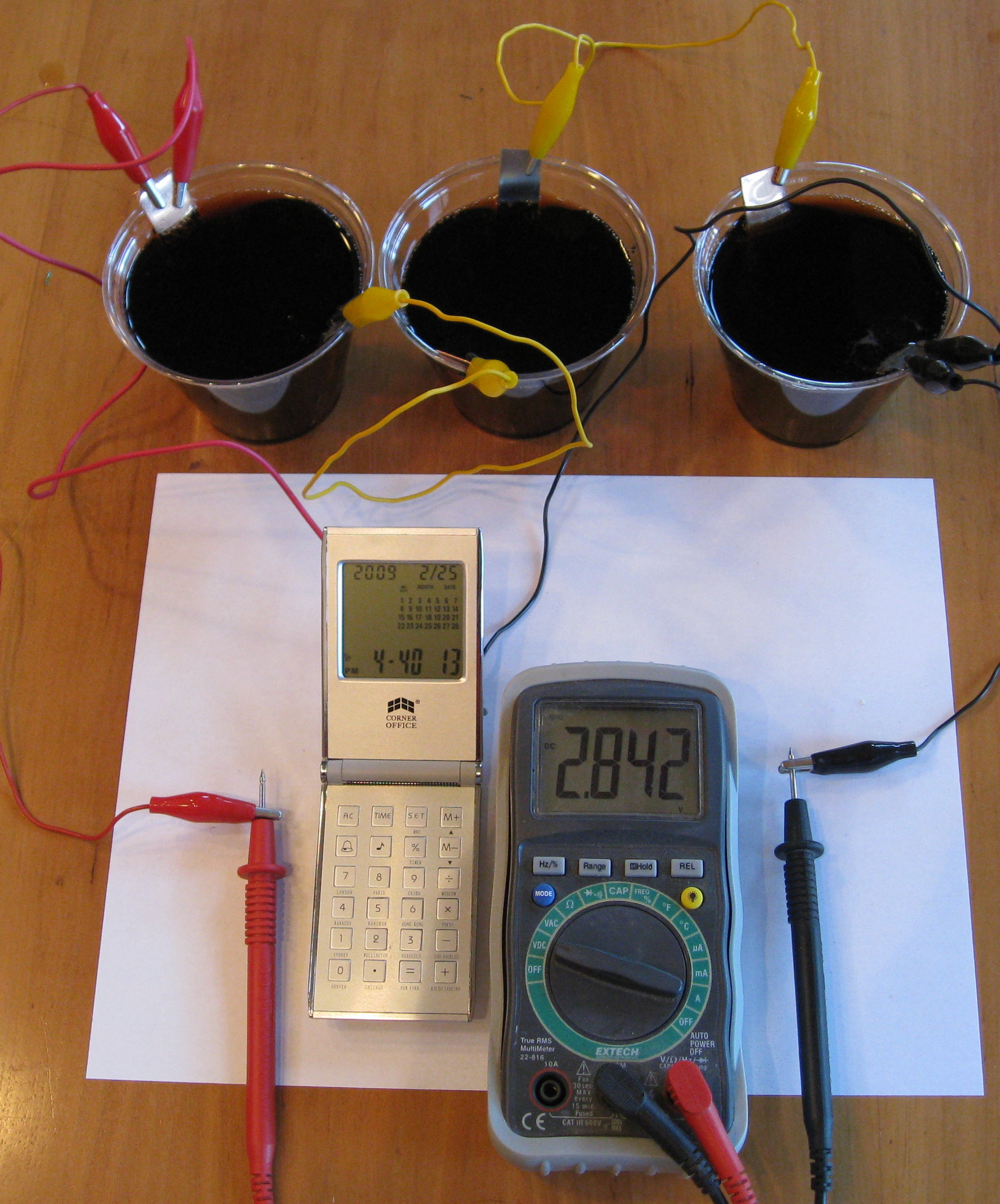 Chapter 3 Electrochemistry Make Homemade Batteries In Your Kitchen The Simple Electric Motor Powered By Two Connected Series