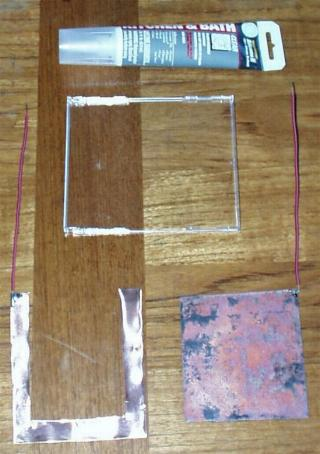 homemade solar cell
