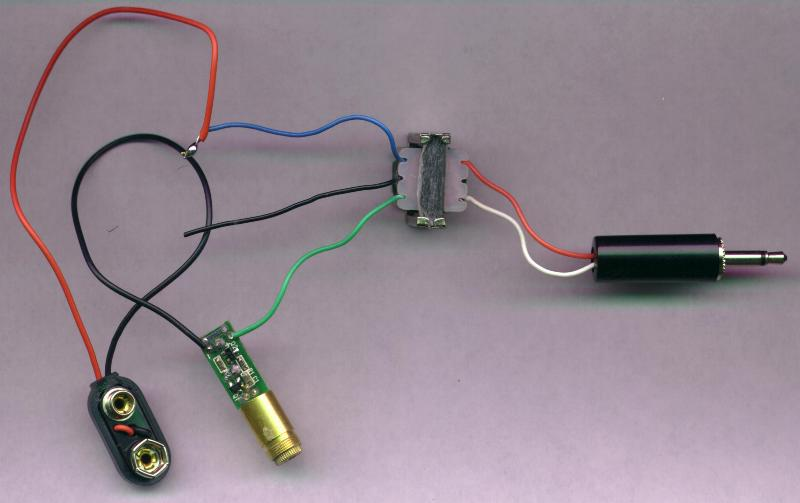 Chapter 7: Light and Optics -- Build a laser communicator. Send your