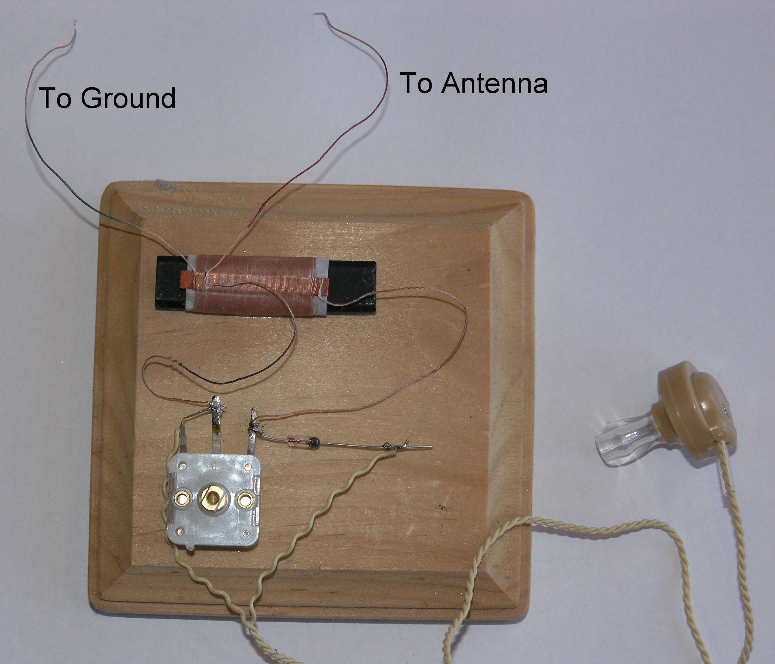 Chapter 4 Radio Build A Crystal Set In 10 Minutes Diy Home Improvement Pinterest Electrical Wiring