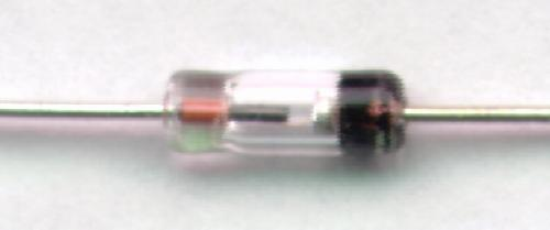 Fuzzy extreme closeup of germanium diode