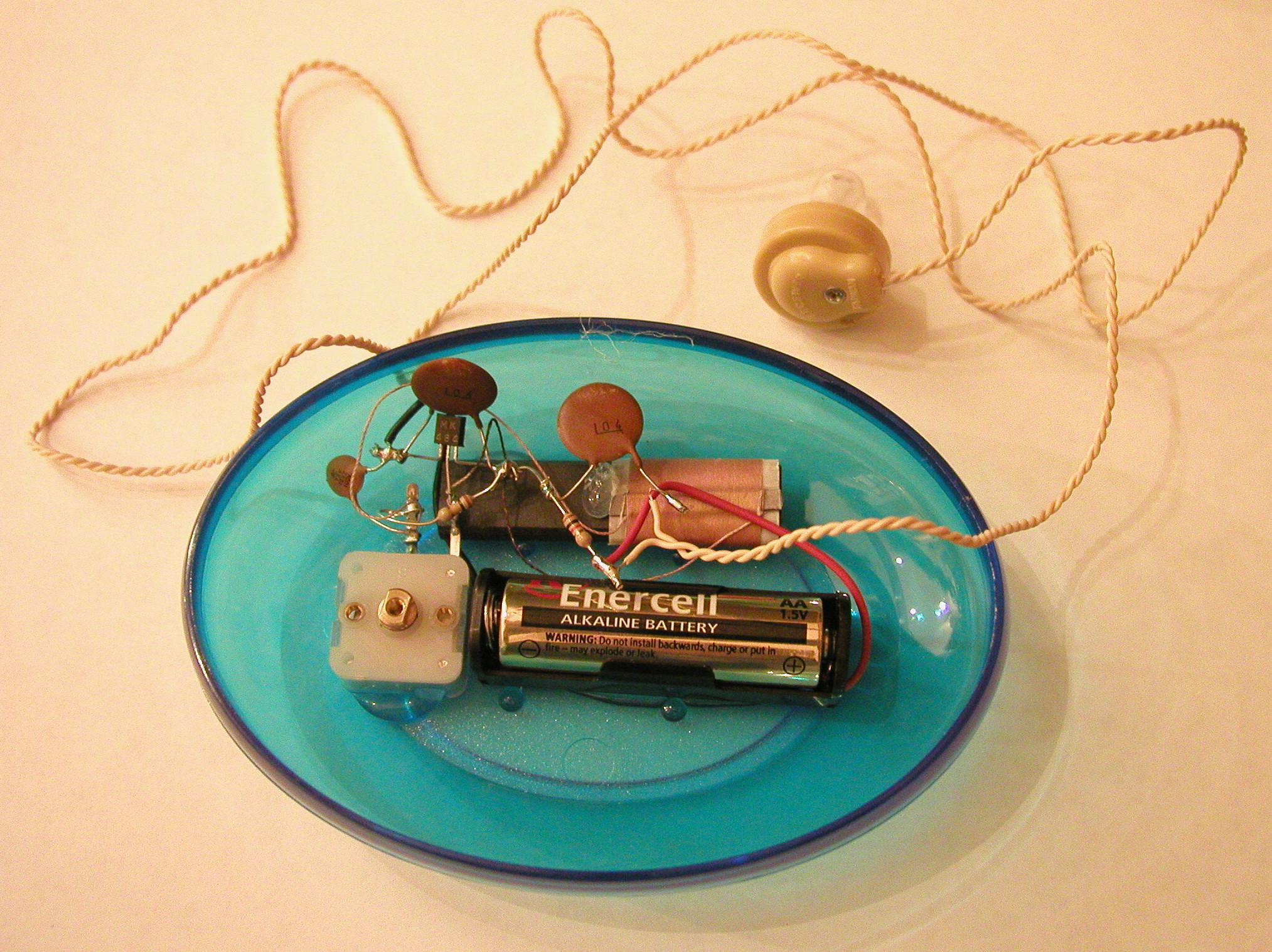 Create The Circuit In A Plastic Box Then Use A Capacitor With Good
